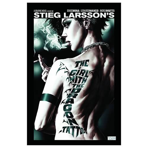 Girl With the Dragon Tattoo Hardcover Graphic Novel