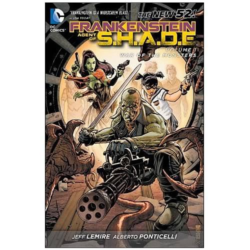 Frankenstein Agent of Shade Graphic Novel
