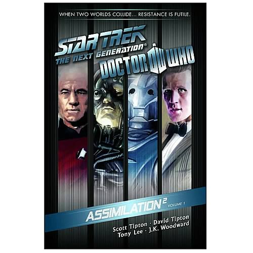 Doctor Who Star Trek TNG Assimilation Graphic Novel