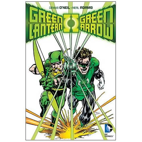 Green Lantern Green Arrow Collected Graphic Novel