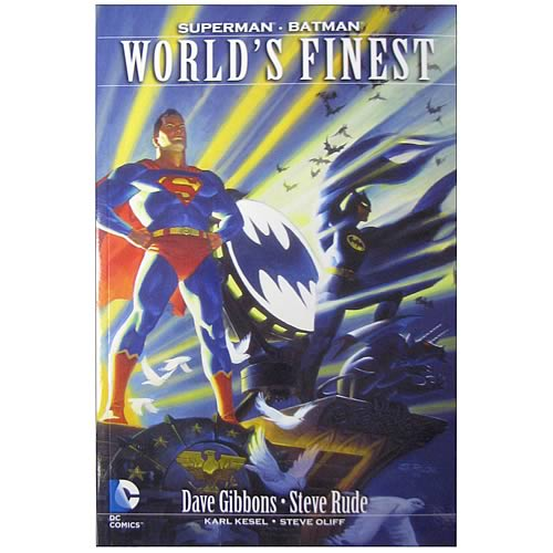 Worlds Finest Miniseries Graphic Novel