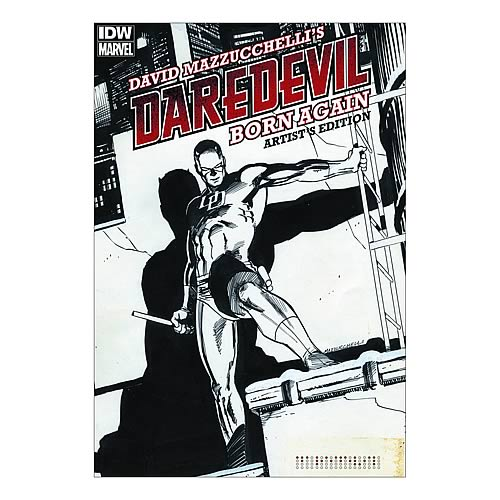 Daredevil Born Again Artist Edition Hardcover Graphic Novel