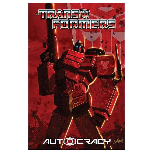 Transformers Autocracy Graphic Novel