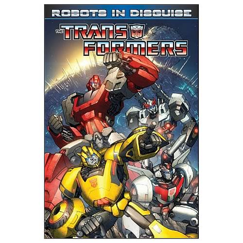 Transformers Robots in Disguise Volume 1 Graphic Novel