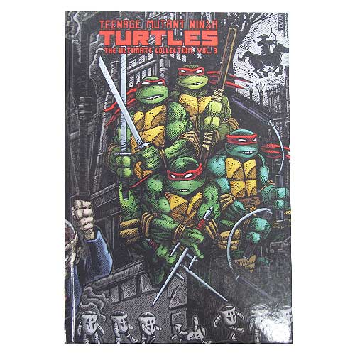 TMNT Ultimate Collection Hardcover Graphic Novel