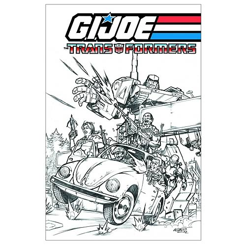 G.I. Joe and Transformers Crossover Graphic Novel