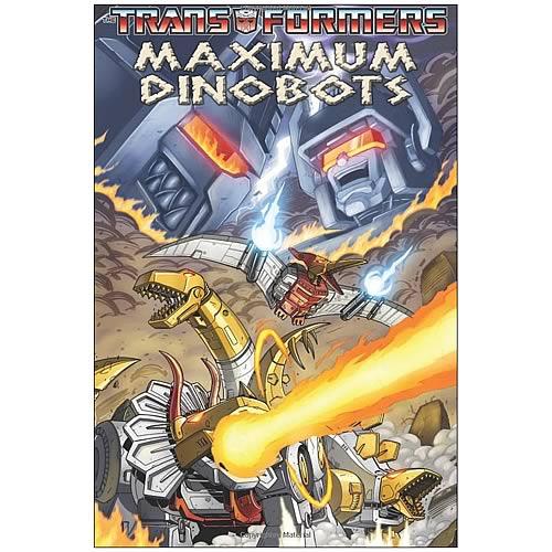 Transformers Maximum Dinobots Graphic Novel