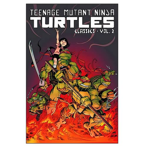 Teenage Mutant Ninja Turtles Classics Vol. 2 Graphic Novel
