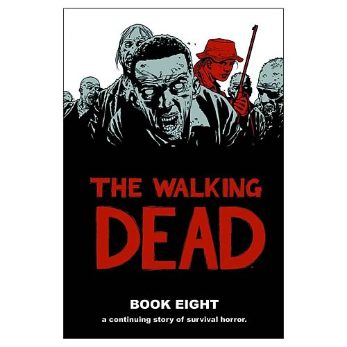 Walking Dead Book 8 Hardcover Graphic Novel