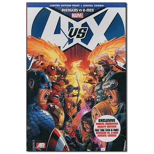 Avengers Vs. the X-Men Cheung Hardcover Graphic Novel