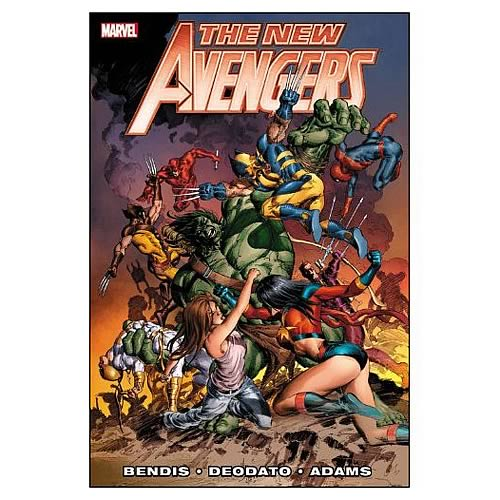 New Avengers Bendis Premiere Hardcover Graphic Novel