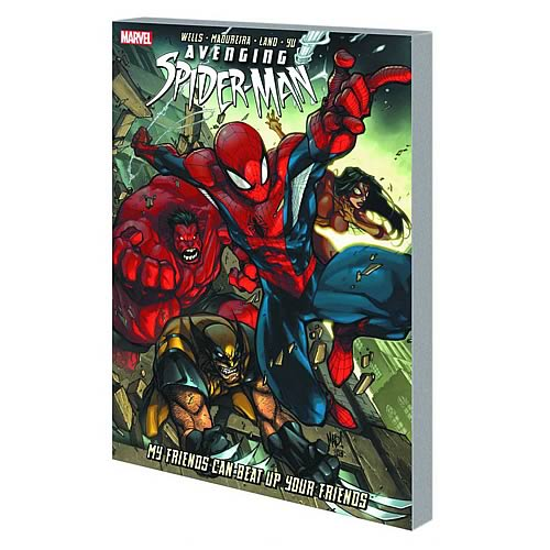 Avenging Spider-Man Friends Beat Up Friends Graphic Novel
