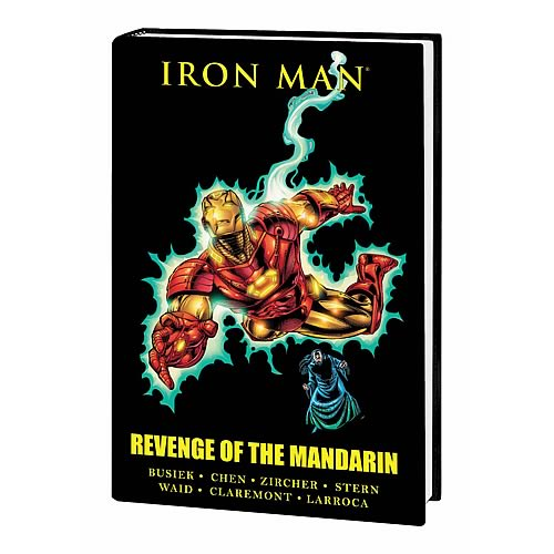 Iron Man Revenge of Mandarin Premiere HC Graphic Novel