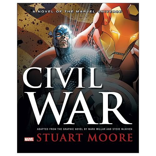 Marvel Civil War Prose Hardcover Novel