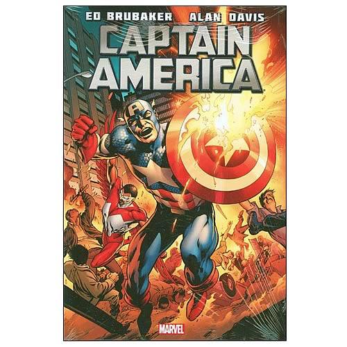 Captain America Brubaker Premiere Hardcover Graphic Novel