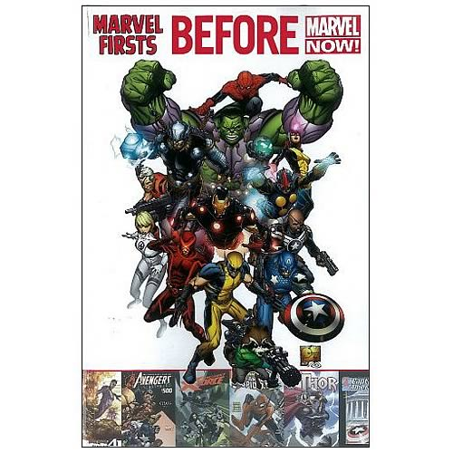 Marvel Firsts ReEvolution Graphic Novel