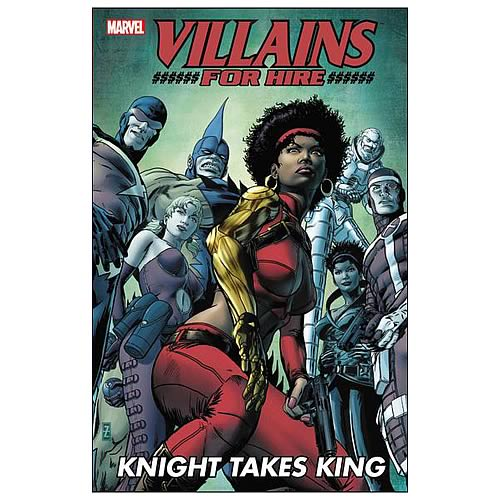 Marvel Villains for Hire Knight Takes King Graphic Novel
