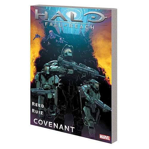 Halo Fall of Reach Covenant Graphic Novel