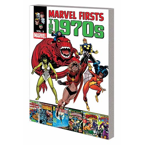 Marvel Firsts 1970s Graphic Novel