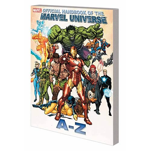 Handbook of Marvel Universe A to Z Graphic Novel Volume 5