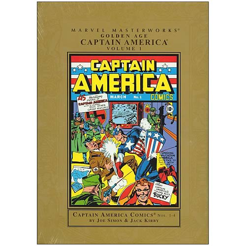 Marvel Masterworks Captain America Golden Age Graphic Novel