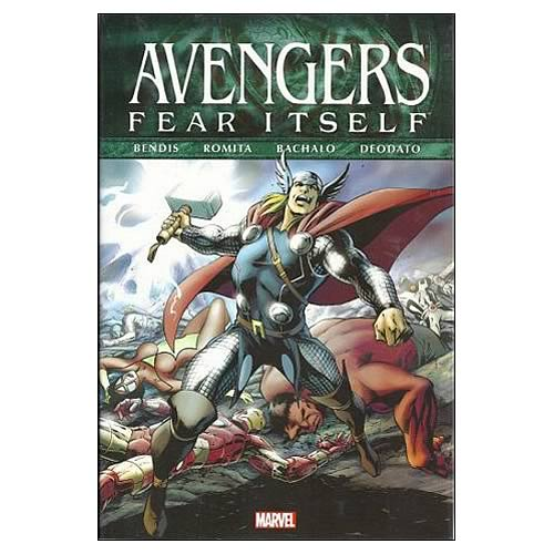 Avengers Fear Itself Graphic Novel
