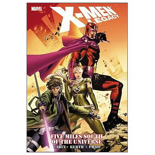 X-Men Legacy Five Miles South of the Universe Graphic Novel