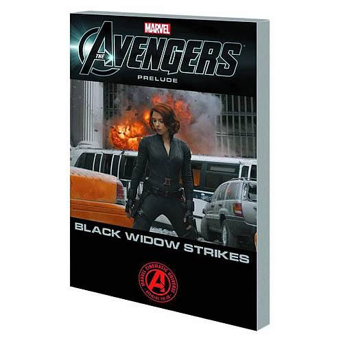 Avengers Black Widow Strikes Graphic Novel