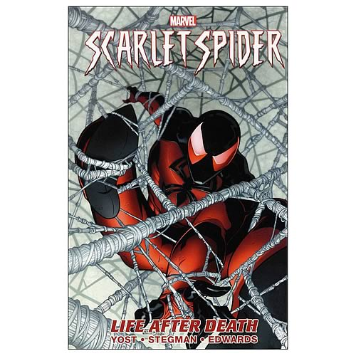 Scarlet Spider Vol. 1 Life After Death HC Graphic Novel