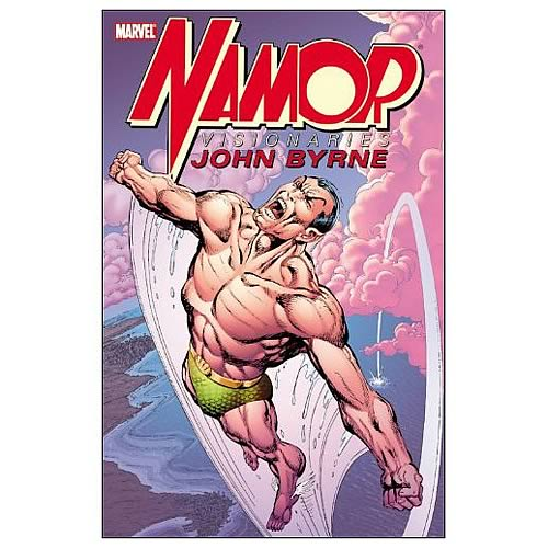 Namor Visionaries by John Byrne Graphic Novel