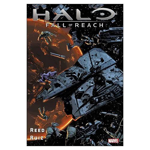 Halo Fall of Reach Hardcover Graphic Novel