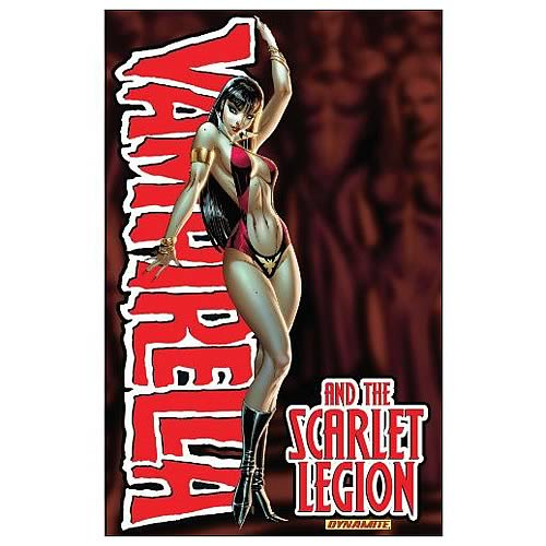 Vampirella Scarlet Legion Graphic Novel