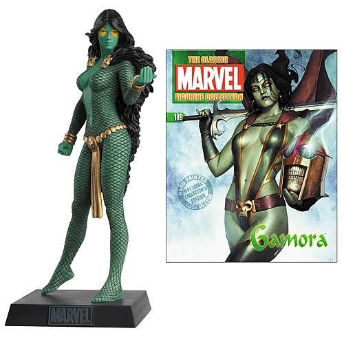 Marvel Comics Gamora Collector Magazine with Figure