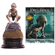 Lord of the Rings Gollum Pawn Chess Piece with Magazine