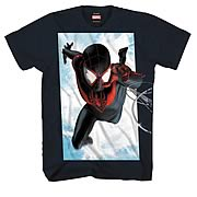 Spider-Men Ultimate Reach Black T-Shirt