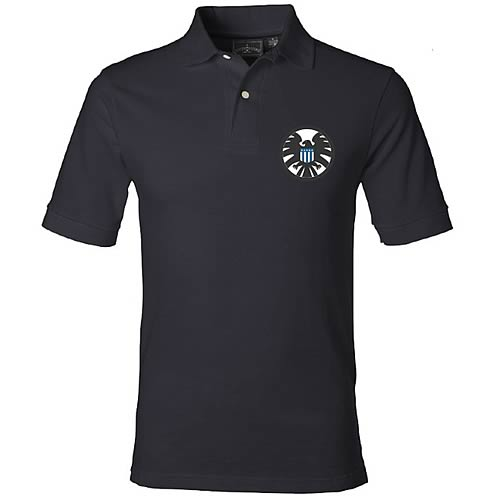 Marvel Classic SHIELD Logo Previews Exclusive Polo Shirt