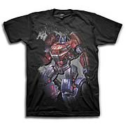 Transformers Fall of Cybertron The Last Prime Black T-Shirt
