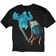 Adventure Time Finn vs. Gladiator Black T-Shirt