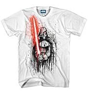 Star Wars Darth Vader Last Stand White T-Shirt