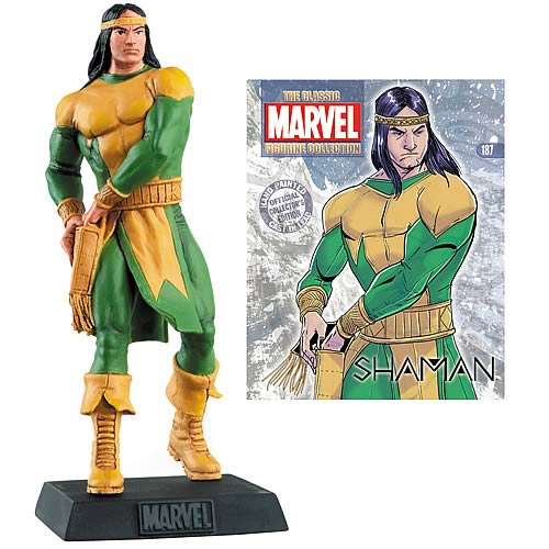 Marvel Shaman Collector Magazine with Figure