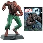 Marvel Werewolf By Night Collector Magazine with Figure