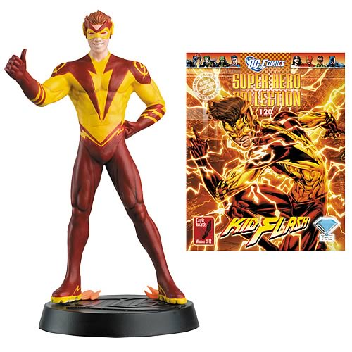 DC Superhero Kid Flash Collector Magazine with Figure