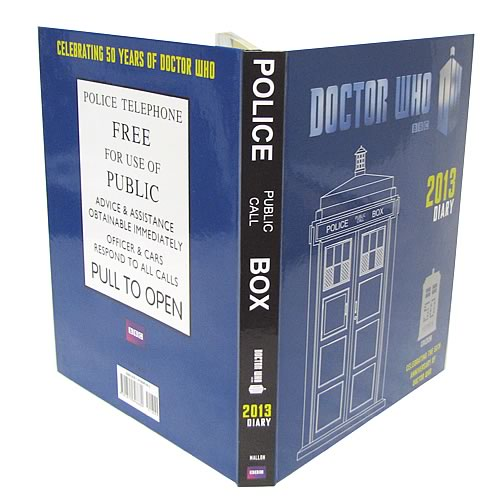 Doctor Who 2013 Daily Planner