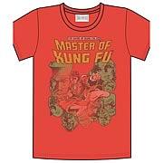 Marvel Shang-Chi Master of Kung Fu Red T-Shirt