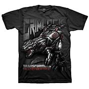 Transformers Fall of Cybertron Grimlock Black T-Shirt