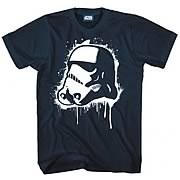 Star Wars Pop Stormtrooper Navy T-Shirt