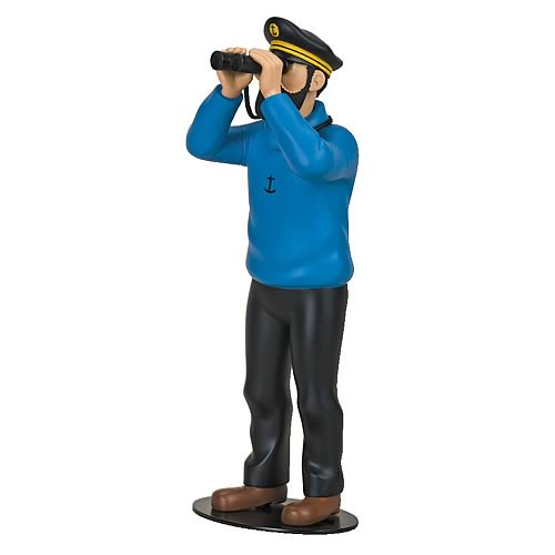 Adventures of Tintin Haddock The Mariner Resin Statue
