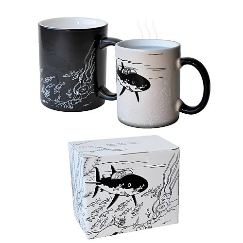 Adventures of Tintin Boxed Magic The Submarine Mug