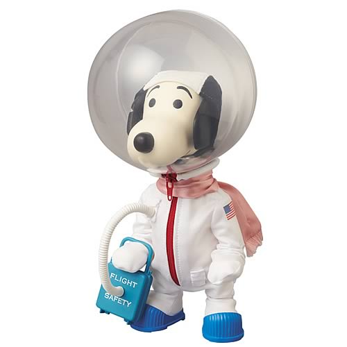 Peanuts Snoopy Astronaut Version Collector Vinyl Figure