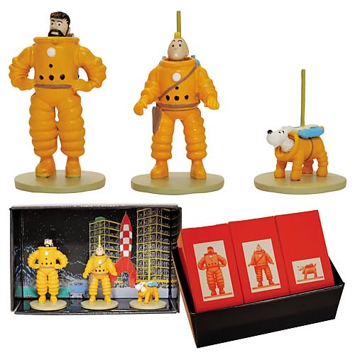 Adventures of Tintin Explorers on Moon Mini-Figure 3-Pack